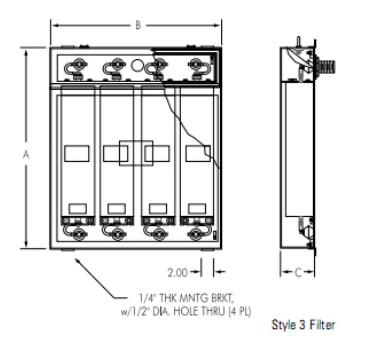Lprx Lfprx 系列電源濾波器 伯堅股份有限公司