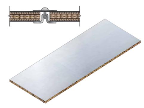 81型 雙層鍍鋅鋼板式 三明治式 隔離室 伯堅股份有限公司